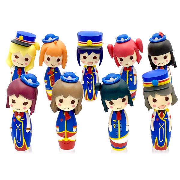 ラブライブ!サンシャイン!! こけしフィギュア HAPPY PARTY TRAIN ver.